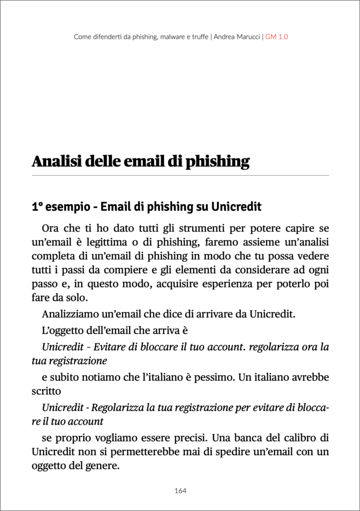 come difendersi dal phishing - come-analisi